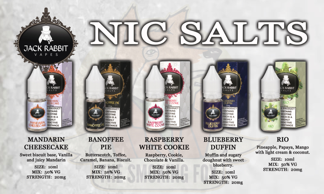 Jack Rabbit Salt Nics