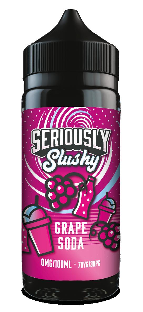 DOOZY SERIOUSLY SLUSHIE 100ml - GRAPE SODA