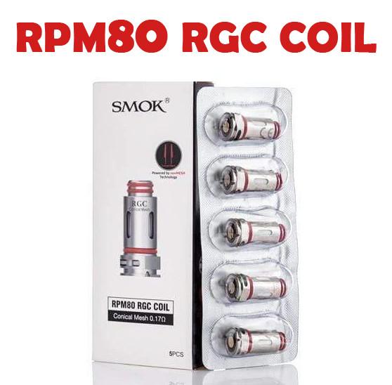 SMOK COILS - RPM80 RGC 0.17ohm COIL