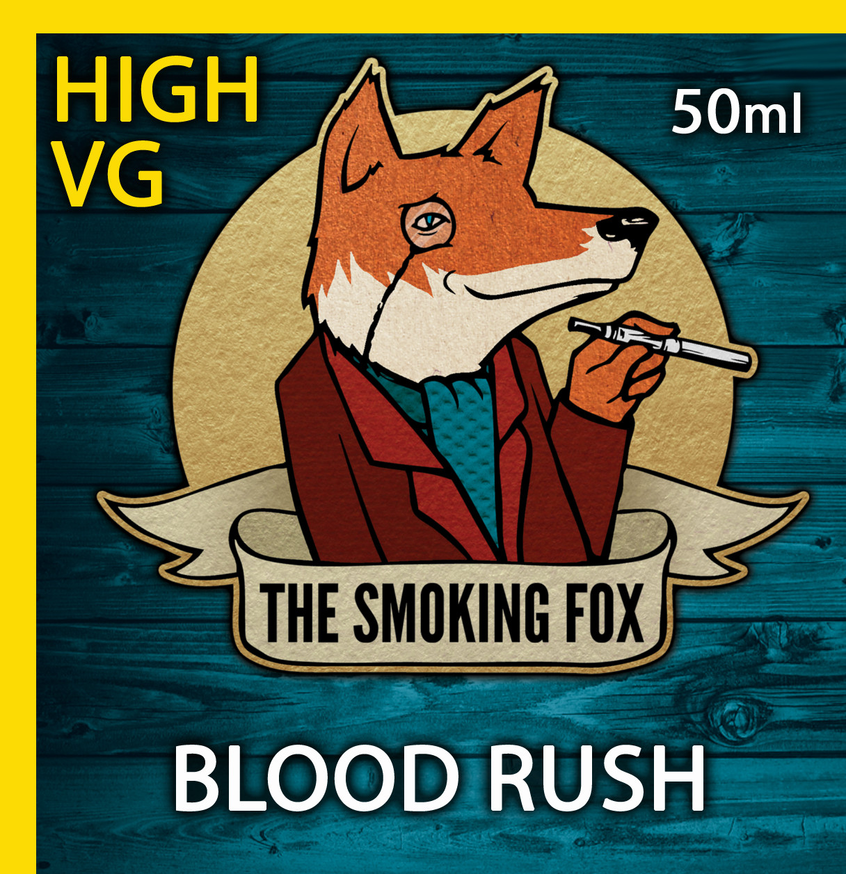 THE SMOKING FOX 50ML HIGH VG - BLOOD RUSH