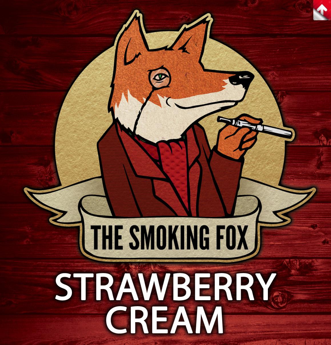 SMOKING FOX 10ml - STRAWBERRY CREAM