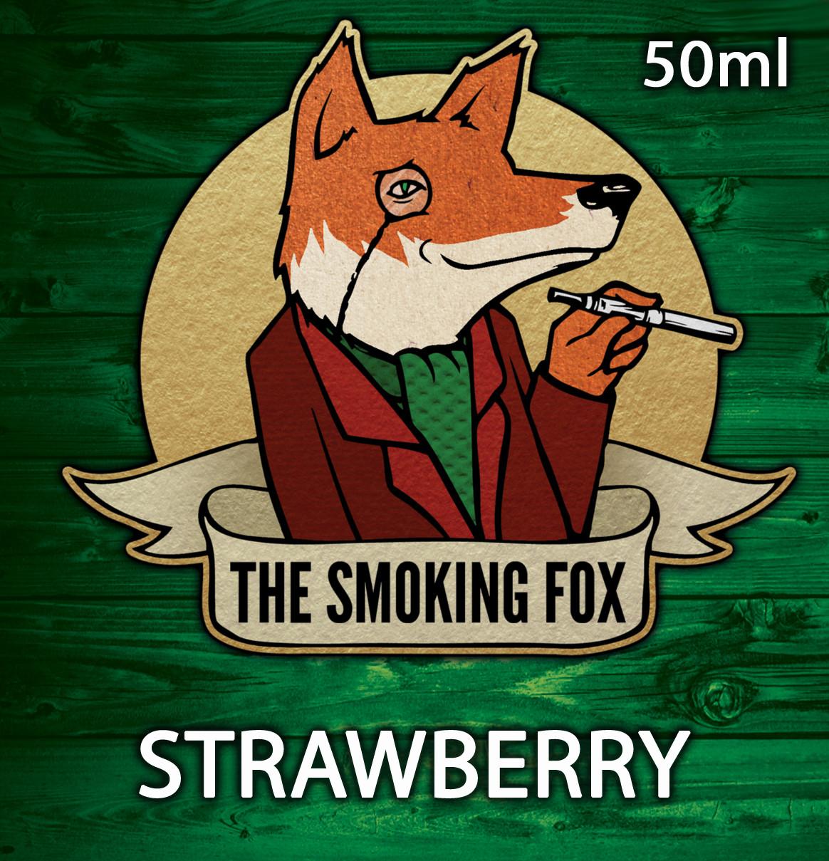 THE SMOKING FOX 50ML SHORTFILL - STRAWBERRY