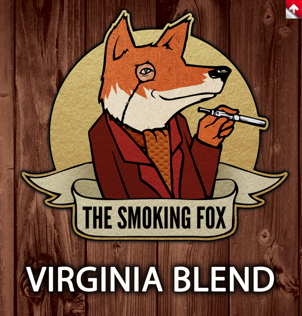SMOKING FOX 10ml - VIRGINIA BLEND