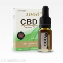 CANABIDOL - CBD DROPS 1000mg RAW