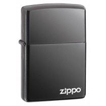 ZIPPO - BLACK ICE w ZIPPO LOGO (150ZL)