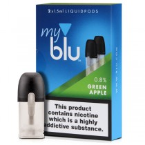 MYBLU - GREEN APPLE PODS 2 PACK (18mg)