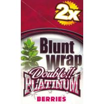 BLUNT WRAP DOUBLE PLATINUM - BERRIES (SILVER)