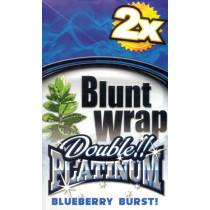 BLUNT WRAP DOUBLE PLATINUM - BLUEBERRY BURST (BLUE)
