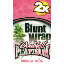 BLUNT WRAP DOUBLE PLATINUM - BUBBLEGUM (PINK)