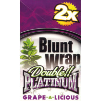 BLUNT WRAP DOUBLE PLATINUM - GRAPE (INDIGO)