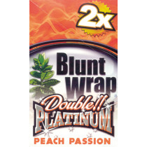 BLUNT WRAP DOUBLE PLATINUM - PEACH (AMBER)