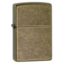 ZIPPO - ANTIQUE BRASS REGULAR (201FB)
