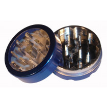 2 PART METAL WINDOW GRINDER- dark blue