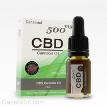 CANABIDOL - CBD DROPS 500mg RAW