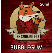 THE SMOKING FOX 50ML SHORTFILL - BUBBLEGUM