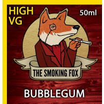 THE SMOKING FOX 50ml HIGH VG - BUBBLEGUM