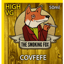 THE SMOKING FOX 50ml HIGH VG - COVFEFE