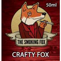 THE SMOKING FOX 50ML SHORTFILL - CRAFTY FOX