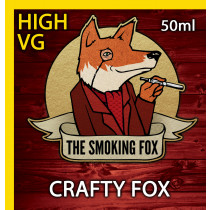 THE SMOKING FOX 50ml HIGH VG - CRAFTY FOX