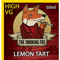 THE SMOKING FOX 50ml HIGH VG - LEMON TART
