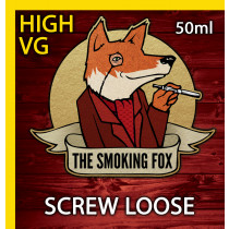 THE SMOKING FOX 50ml HIGH VG - SCREW LOOSE