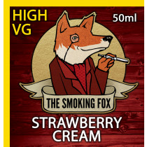THE SMOKING FOX 50ml HIGH VG - STRAWBERRY CREAM