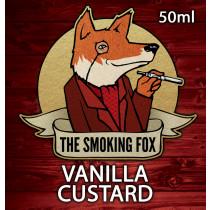 THE SMOKING FOX 50ml SHORTFILL - VANILLA CUSTARD