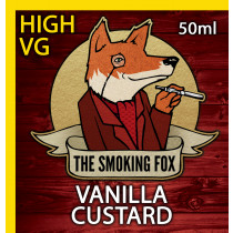 THE SMOKING FOX 50ml HIGH VG - VANILLA CUSTARD