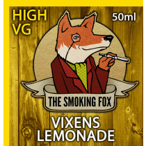 THE SMOKING FOX 50ml HIGH VG - VIXENS LEMONADE