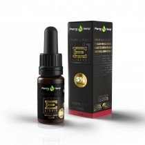 PHARMA HEMP - BLACK PREMIUM - CBD ELIQUID 10ml - 1% / 100mg