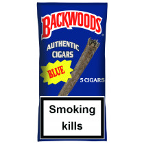 BACKWOODS - BLUE (VANILLA) 5 PACK