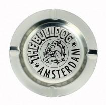 THE BULLDOG AMSTERDAM ASHTRAY - SILVER