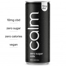 CALM CBD DRINK - ZERO SUGAR COLA