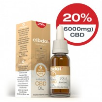 CIBDOL - CBD OIL 20% - 30ml (6000mg)