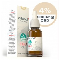 CIBDOL - CBD OIL 4% - 50ml (2000mg)