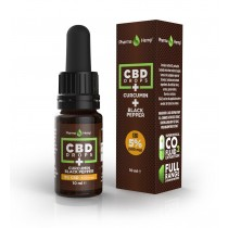 PHARMA HEMP - CBD DROPS CURCUMIN 10ml - 5%
