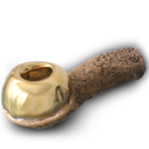 CELEBRATION PIPE - 22k GOLD