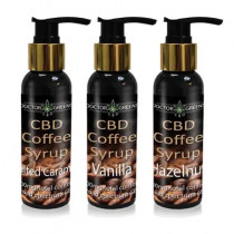 DOCTOR GREENS - CBD COFFEE SYRUP (SALTED CARAMEL)