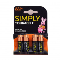 DURACELL - AA (4 PACK)