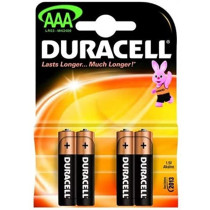 DURACELL - AAA (4 PACK)