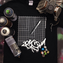 ELKI CUTTING MAT T-SHIRT