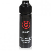 OHM BREW 50ml - GUILTY WHITE CHOCOLATE, CRANBERRY & PISTACHIO