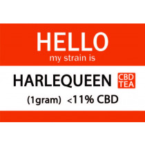 MY STRAIN IS... CBD FLOWER TEA - HARLEQUEEN (1gram)