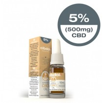 CIBDOL - CBD OIL 5% - 10ml (500mg)
