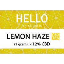 MY STRAIN IS... CBD FLOWER TEA - LEMON HAZE (1gram)