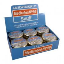 J&H Wilson Medicated No.99 Snuff 5g