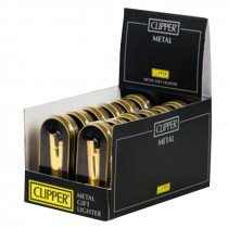 METAL CLIPPER LIGHTER (CM094) - ALL GOLD