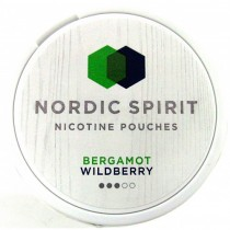 NORDIC SPIRIT - BERGAMOT WILDBERRY (9mg)