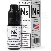 NS20 Nicotine Salt Shot E-Liquid by Element (20mg)