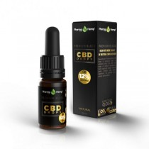 PHARMA HEMP - BLACK PREMIUM CBD DROPS 10ml - 6.6% (660mg)